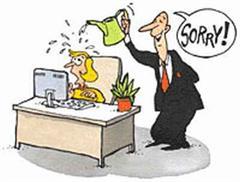 Arbeitsplatz zeichnung  11 Tipps bei Mobbing am Arbeitsplatz - Sylvia Geiss
