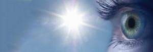 Sonnenlicht-Augen