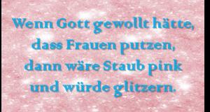 PinkGlitzerStaub