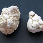 Magnesite: roh und getrommelt